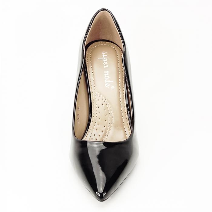 Pantofi negri lacuiti Tiffany 2