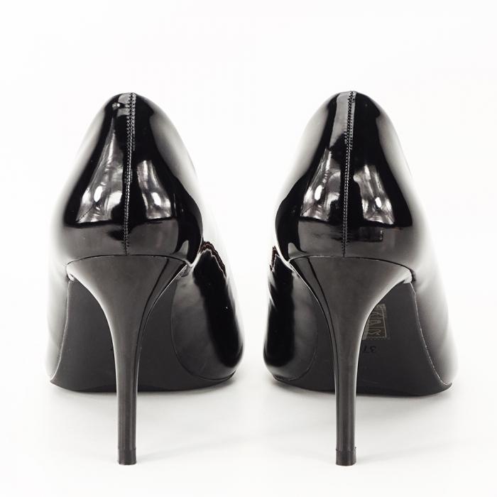 Pantofi negri lacuiti Tiffany 5