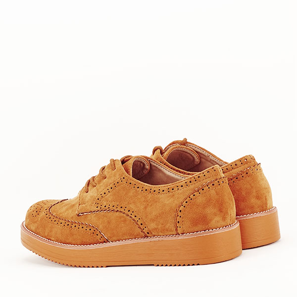 Pantofi oxford camel Dalia [5]