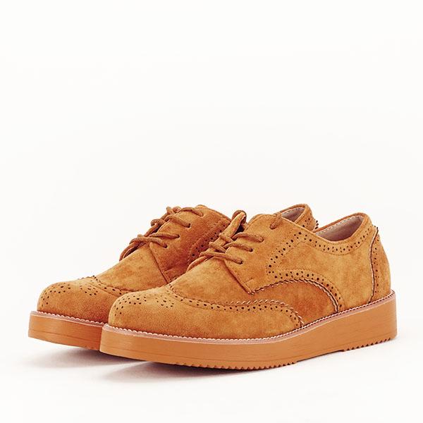 Pantofi oxford camel Dalia [2]