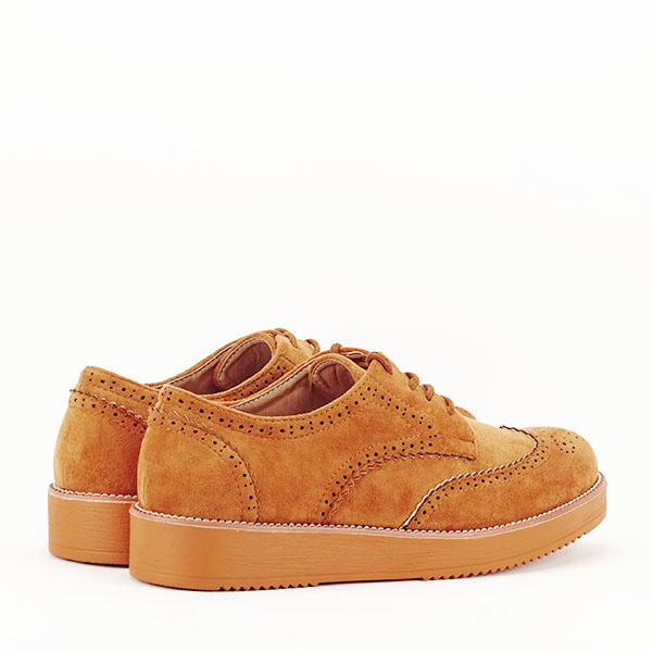 Pantofi oxford camel Dalia [4]