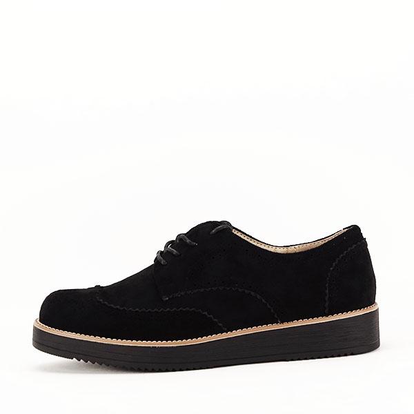 Pantofi oxford negri Dalia 0