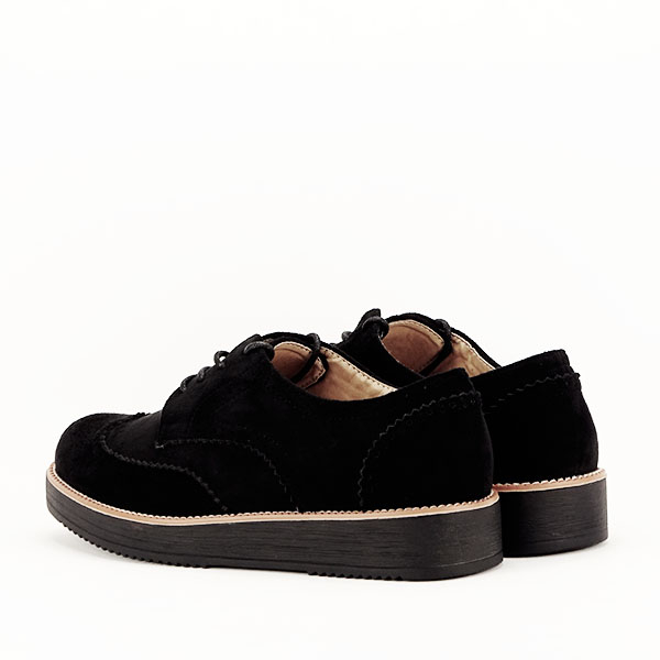 Pantofi oxford negri Dalia 5