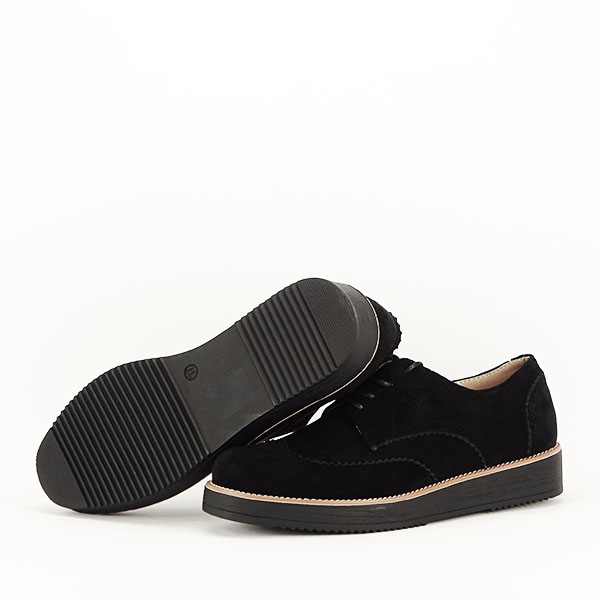 Pantofi oxford negri Dalia 7