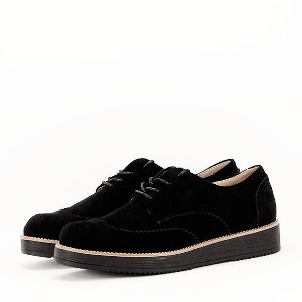 Pantofi oxford negri Dalia 3