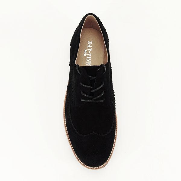 Pantofi oxford negri Dalia 1