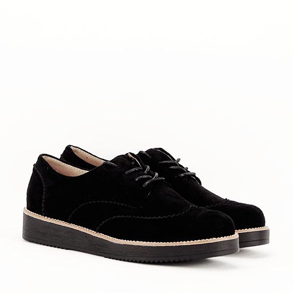 Pantofi oxford negri Dalia 2