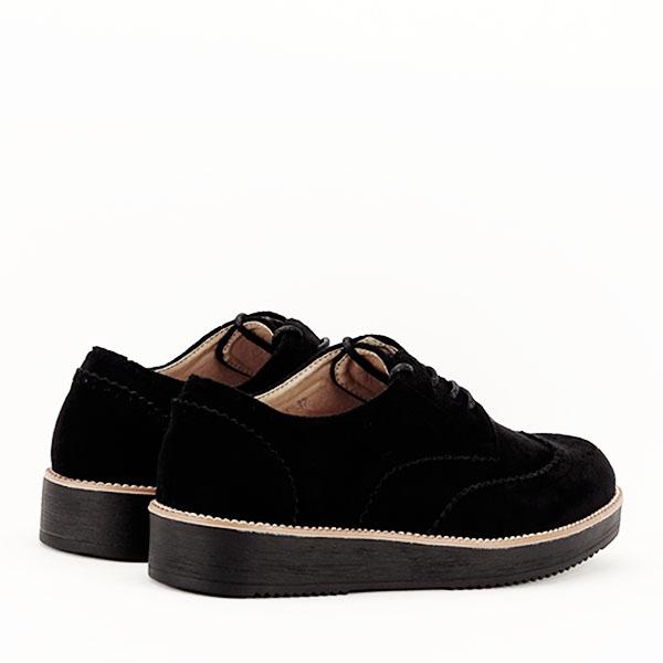 Pantofi oxford negri Dalia 4