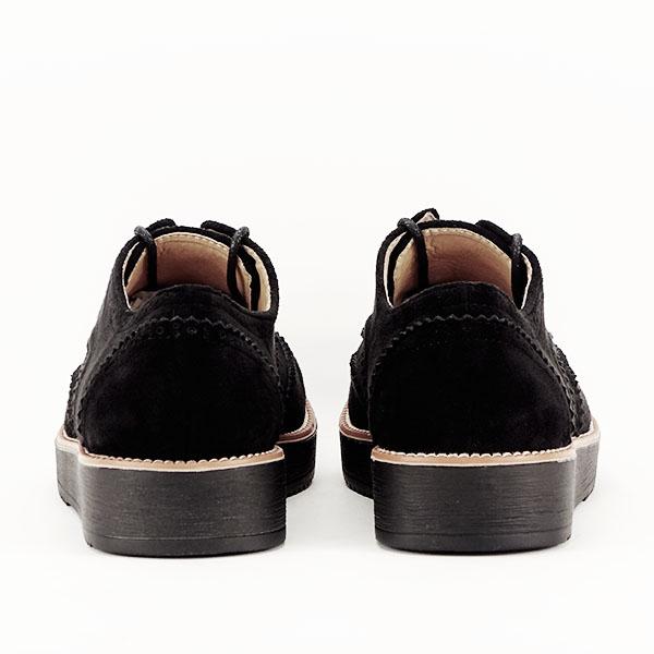 Pantofi oxford negri Dalia 6