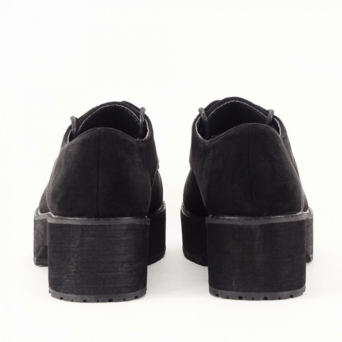 Pantofi oxford negri Miruna [4]