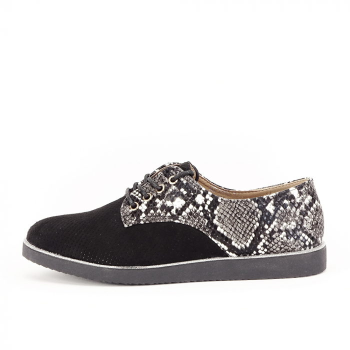 Pantofi oxford negri Patricia [1]
