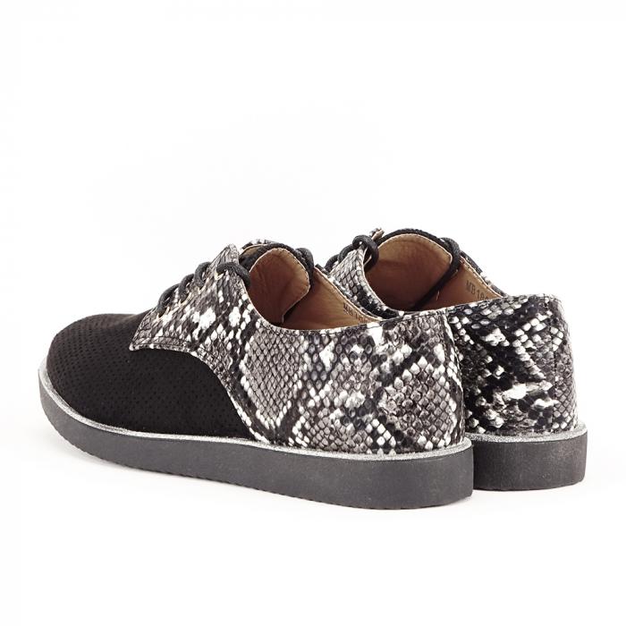 Pantofi oxford negri Patricia [3]