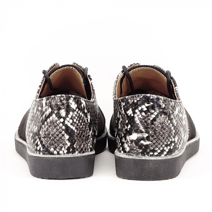Pantofi oxford negri Patricia [4]