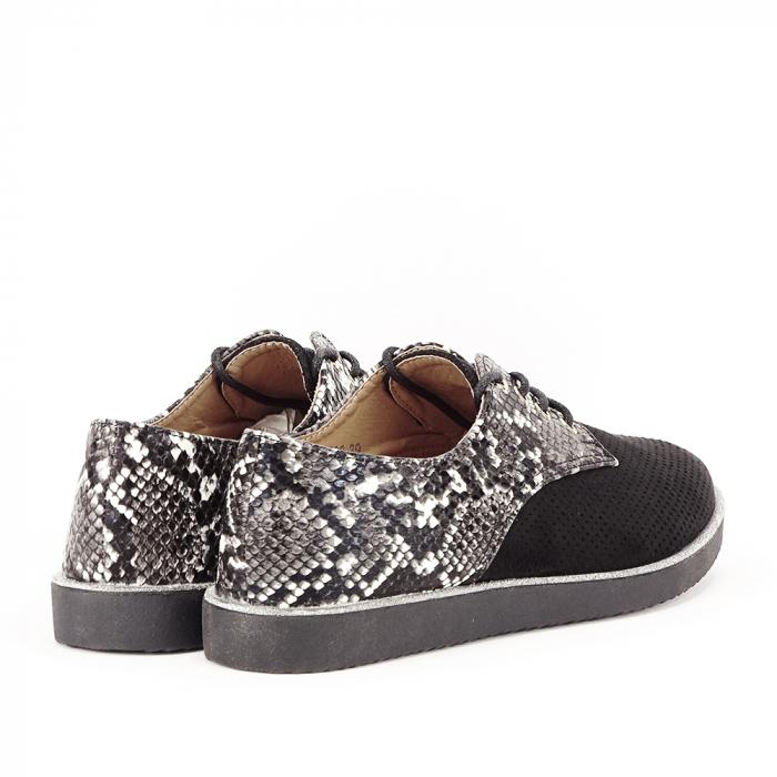 Pantofi oxford negri Patricia [6]