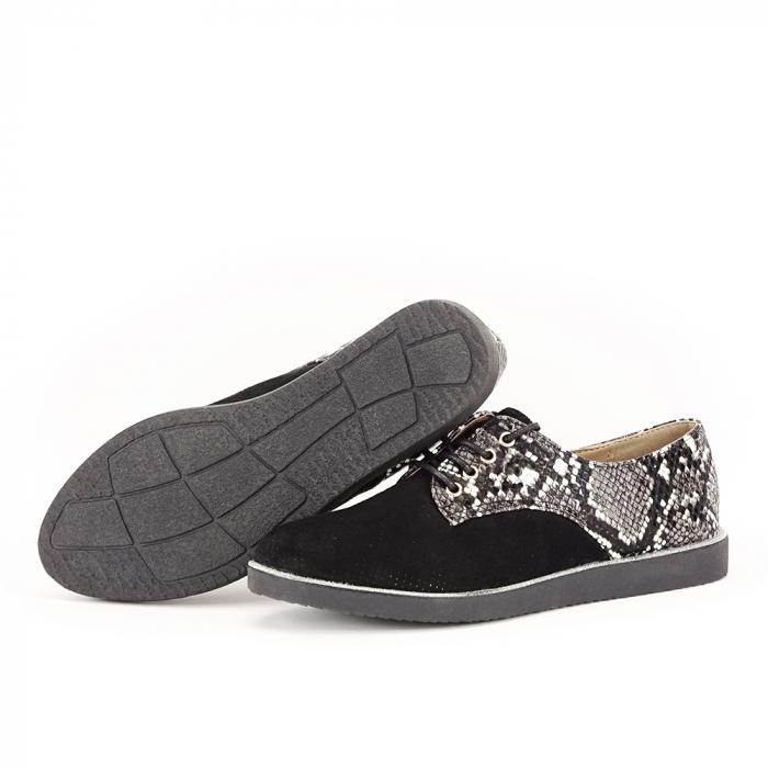 Pantofi oxford negri Patricia [7]