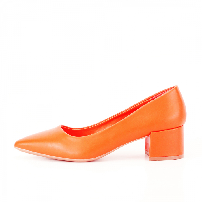 Pantofi portocalii Anita 0