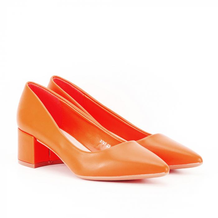 Pantofi portocalii Anita 2