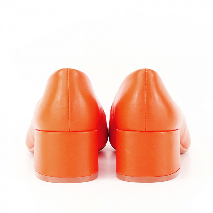Pantofi portocalii Anita 6