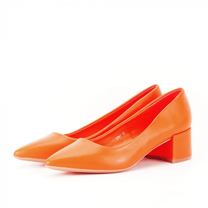 Pantofi portocalii Anita 1