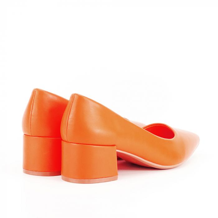 Pantofi portocalii Anita 7