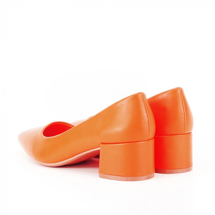 Pantofi portocalii Anita 5