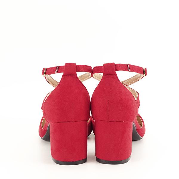 Pantofi rosii eleganti Petra [5]