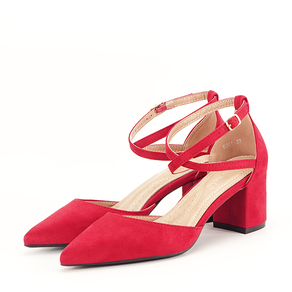 Pantofi rosii eleganti Petra [0]