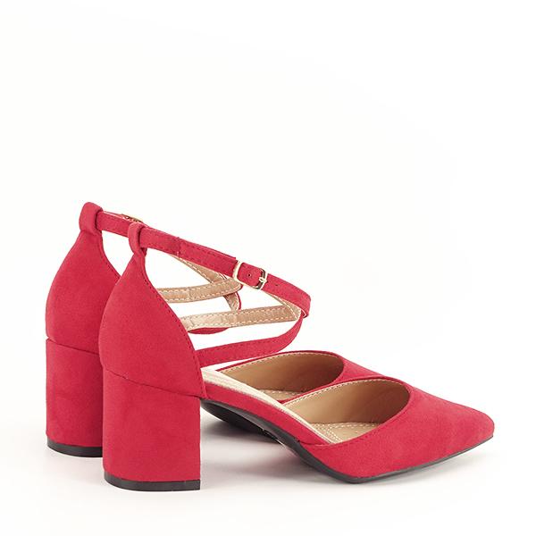 Pantofi rosii eleganti Petra [4]
