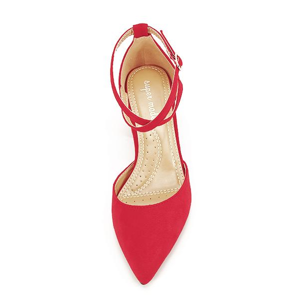 Pantofi rosii eleganti Petra [6]