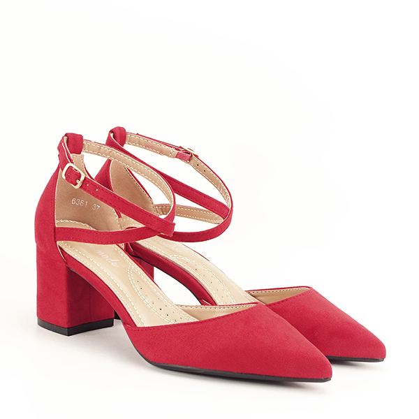Pantofi rosii eleganti Petra [2]