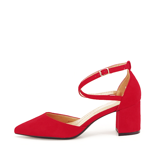Pantofi rosii eleganti Petra [1]
