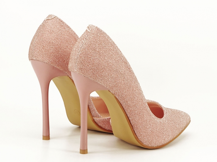 Pantofi roz decupati lateral Dream 4
