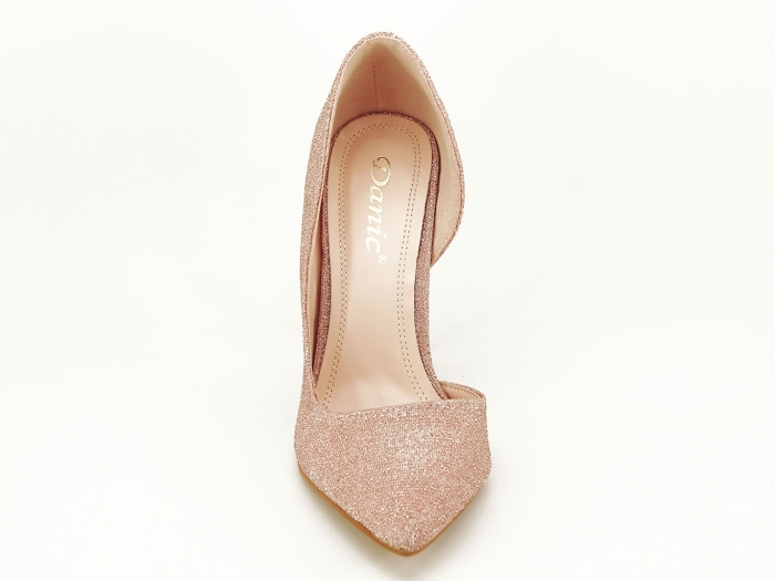 Pantofi roz decupati lateral Dream 6