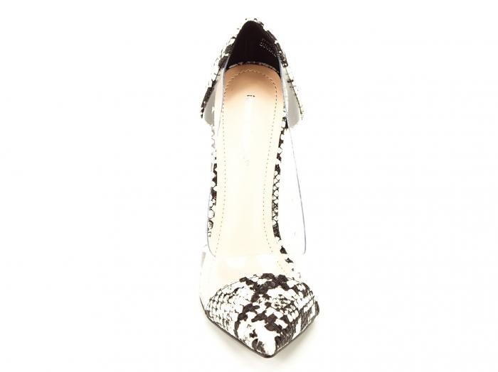 Pantofi snake print cu silicon lateral Naomi 6