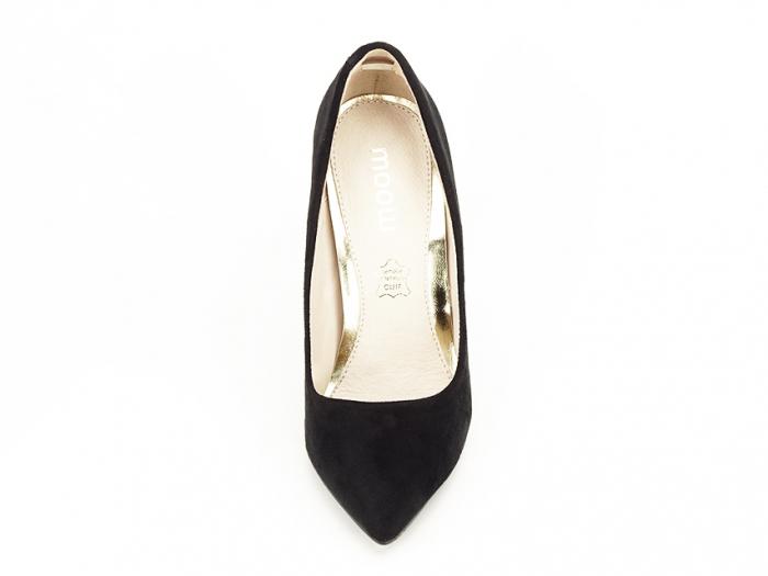 Pantofi negri eleganti cu toc inalt Grace 2