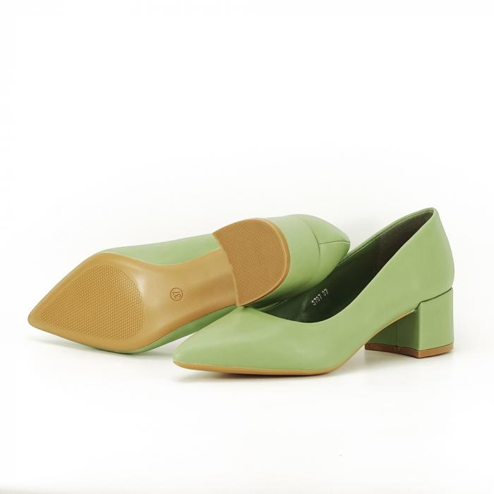 Pantofi verde fistic Anita 7