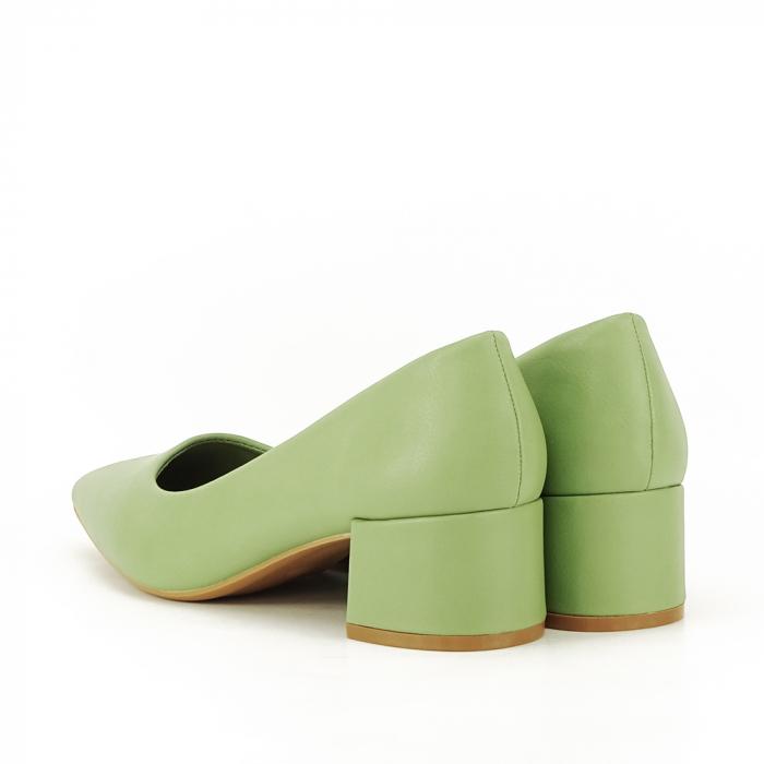 Pantofi verde fistic Anita 5