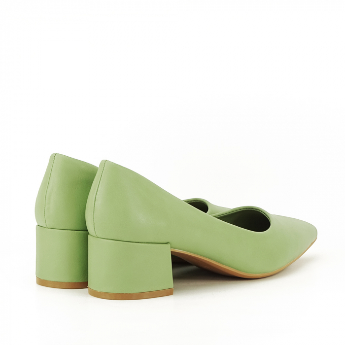 Pantofi verde fistic Anita 2