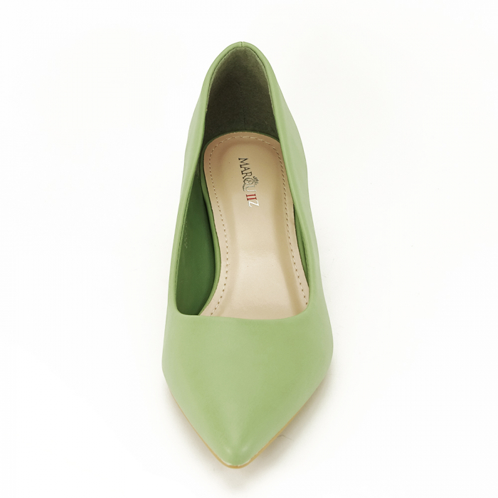 Pantofi verde fistic Anita 6
