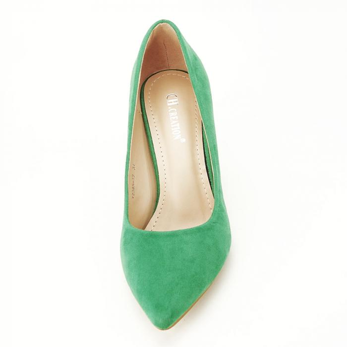 Pantofi cu toc conic Dion 7