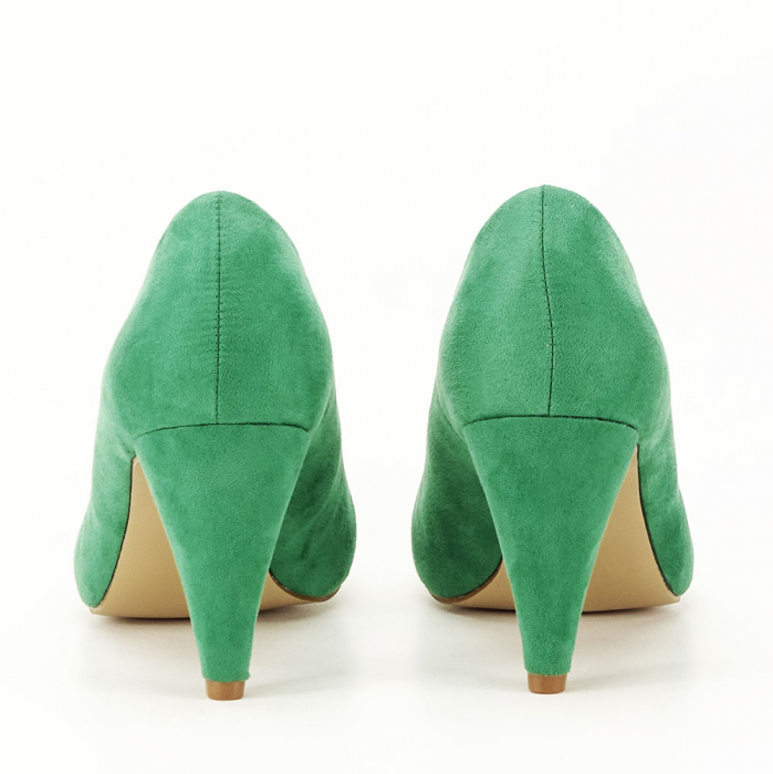 Pantofi cu toc conic Dion 3