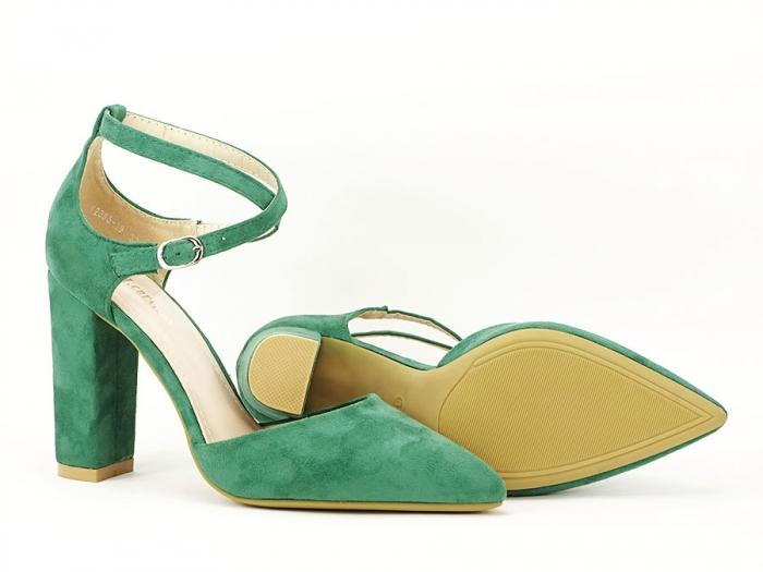 Pantofi verzi decupati Amedeia 6
