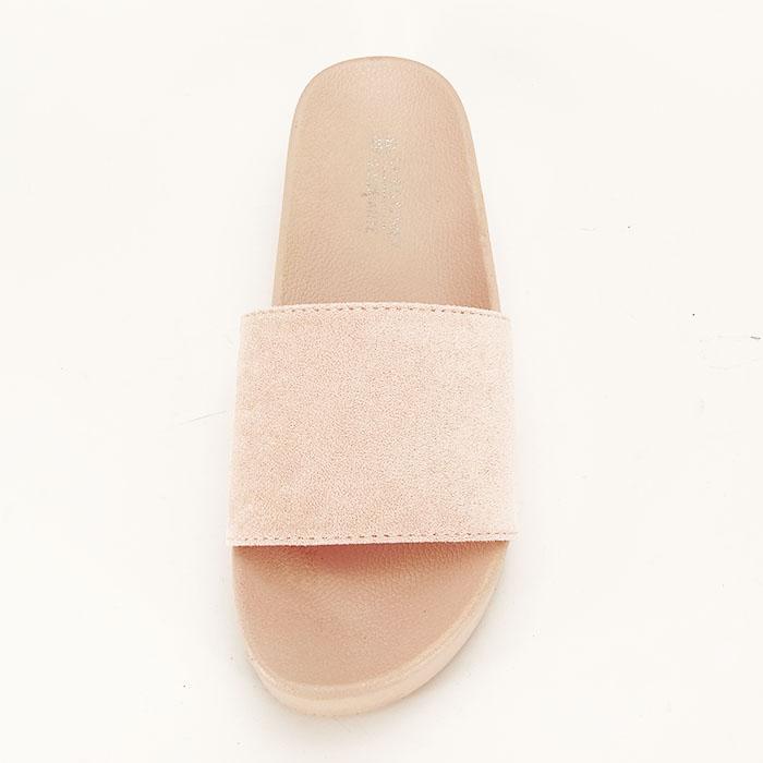 Papuci roz pal cu platforma Mery [2]