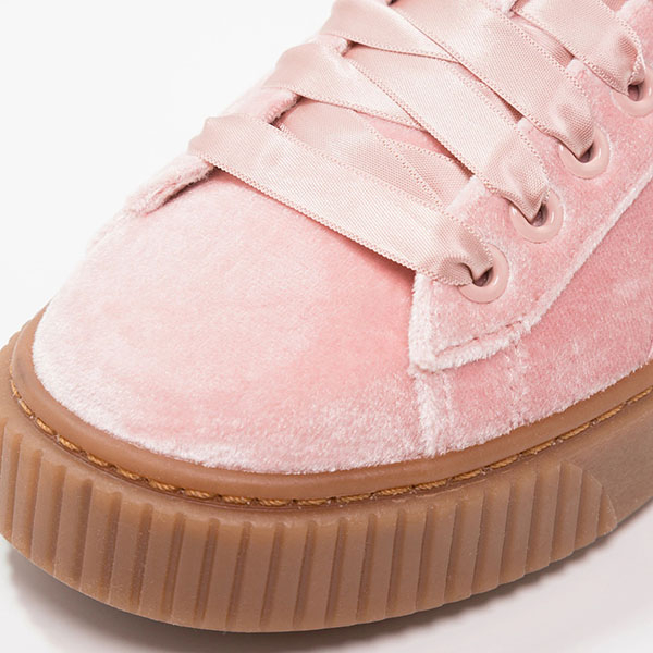 Puma pantofi sport Basket Platform VS Wns din material textil [5]