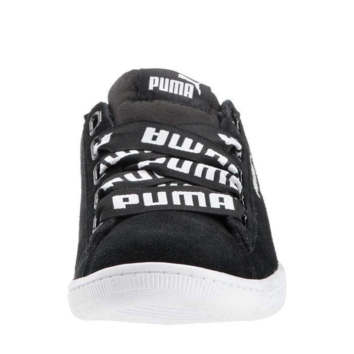 Puma Pantofi sport Casual Femei Puma Vikky Ribbon Bold din piele intoarsa 3