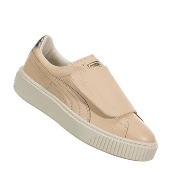 Puma Pantofi sport Suede Platform Bigv Cameo din piele naturala 2