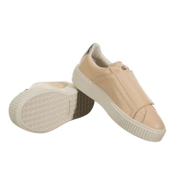 Puma Pantofi sport Suede Platform Bigv Cameo din piele naturala 4