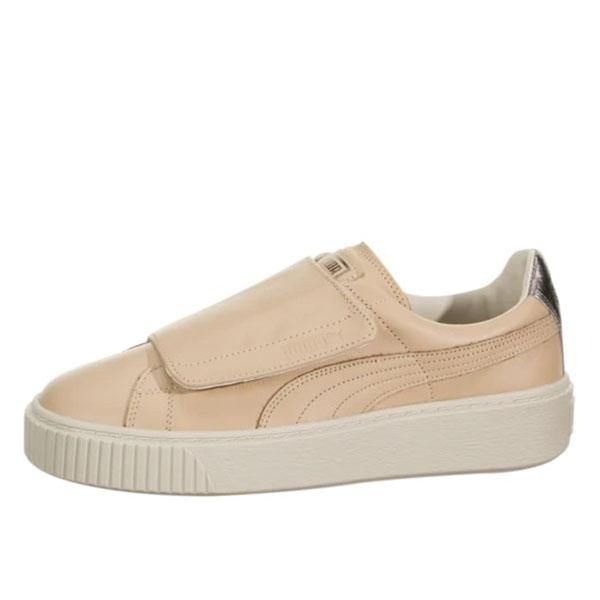 Puma Pantofi sport Suede Platform Bigv Cameo din piele naturala 0