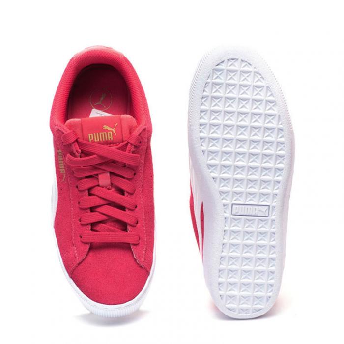Puma Pantofi sport Casual Femei Puma Vikky Platform Jr din piele intoarsa 2