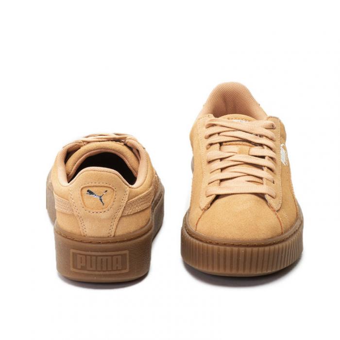Puma Pantofi sport Suede Platform Animal de piele intoarsa, cu garnitura cu aspect piele de sarpe 3